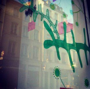 Vitrine, Résidence la Factorine, Nancy 2015