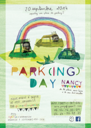 Parking Day - Proposition d'affiche