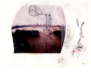 Illustration - Collage et dessin